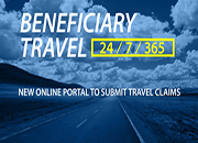 Graphic of Beneficiary Travel Self-Service System (BTS3)